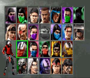 SNES Screenshot Ultimate Mortal Kombat III