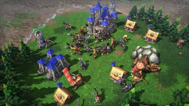 Warcraft 3: Reforged Ingame-Spielszene.